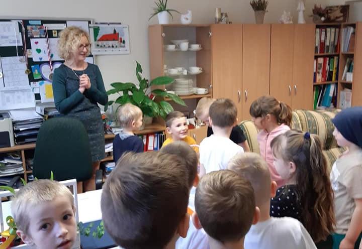 Odwiedziny w Szkole Podstawowej